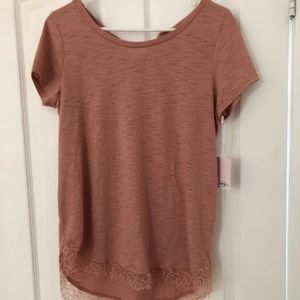 Lauren Conrad Blush Colored Shirt - NWT